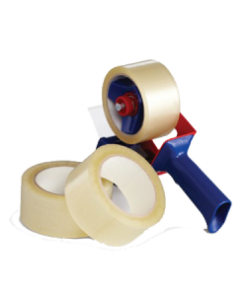 Economy 3 x 110 yards Clear (24 Rolls per Case)-#21ECO3-1 To 3 Cases